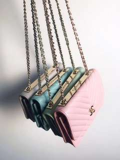 Chanel Trendy CC Chevron WOC