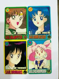 Sailormoon mini cards vintage collection #July100