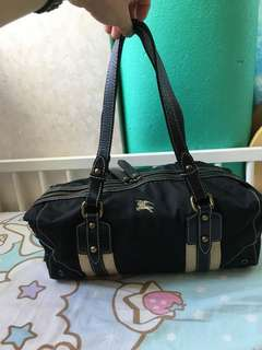 Used Authentic Burberry Bag