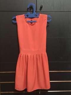 Red-Orangey Dress