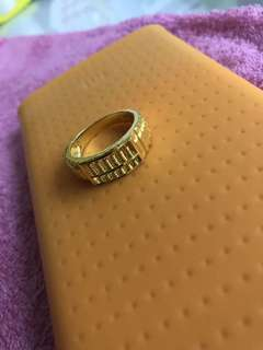 916 Gold Ring w abacus design ❤️❤️