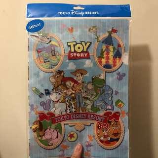 Tokyo Disneyland Toy Story A4 File Set