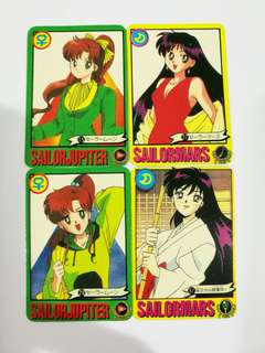 Sailormoon mini card collection vintage #July100