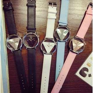 Triangle Hollow (unisex) watch