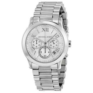 COOPER CHRONOGRAPH SILVER DIAL STAINLESS STEEL LADIES WATCH MK6273