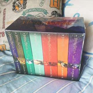Boxset Novel Harry Potter