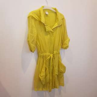 Yellow sheer Outer