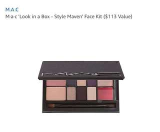 MAC Look In A Box Face Kit/Style Maven