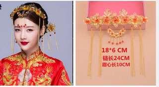 Gold Flower Design Crown