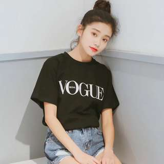🆕 READY STOCK VOGUE TEE #july70