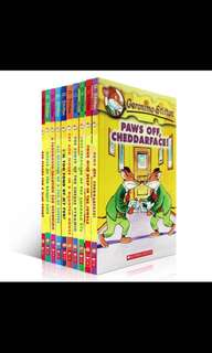 Geronimo Stilton book 1-3