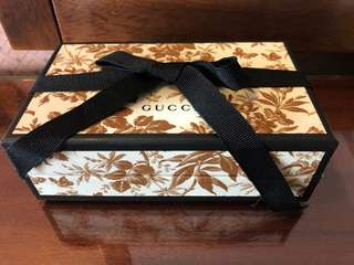 Gucci chocolate & Jewellery Box