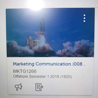 RMIT Marketing Communication