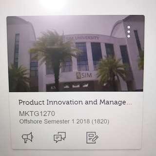 RMIT Product Innovation & Management