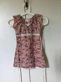 Floral Top for 3 yo girl