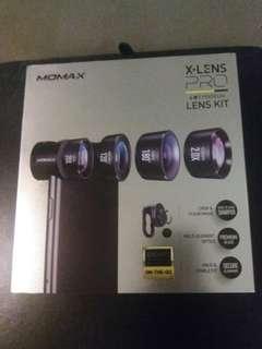 MOMAX X-LENS PRO 4 in 1 Premium LENS KIT
