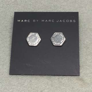 Marc Jacobs Sample Earrings 銀色六角形耳環