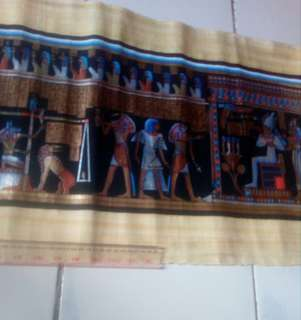Gambar kertas papirus