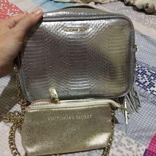 Victoria Secret Sling bag w/ free wallet