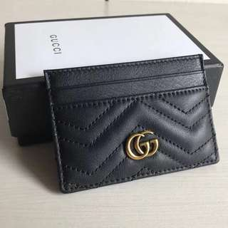 Gucci Marmont GG Card Holder