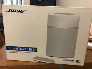 Bose Sound Touch 10(全新)