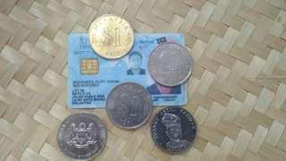 Coin malaysian&syiling lama malaysia