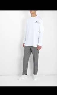 Marcelo Burlon Long Line Cotton Jersey