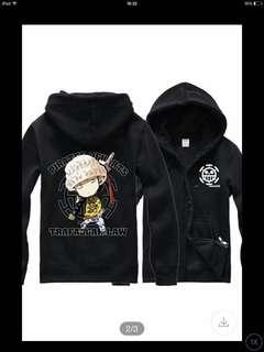 One piece  Hoodie jacket