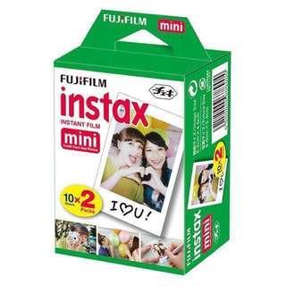Refill Fujifilm Instax Mini Twinpack Twin Pack 20 Lembar