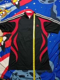 Original Adidas Trainer Zipper Black Shirt