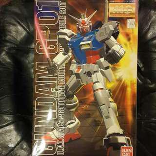 全新 MG 1:100 模型 - Gundam GP01 高達 (Bandai Master Grade 1/100)