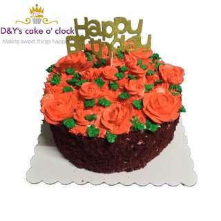 RED VELVET CAKE WITH CREAMCHEESE