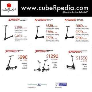 GSS Promo for LTA Compliant E-scooters