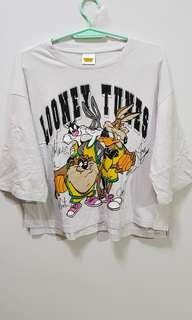 COTTON ON LOONEY TUNES CROP TOP