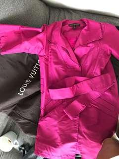 Louis Vuitton Jacket Pink Authentic 100%