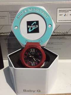 Baby G By Casio Red