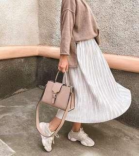 歐洲代購意大利品牌Camelia Roma真皮handbag/crossbody