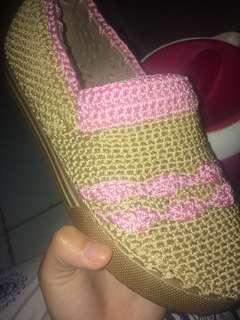 Crochet Shoes/sepatu rajut wanita