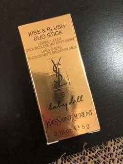 🚚 YSL Kiss & Blush Duo Stick 5