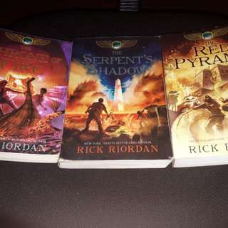 Kane Chronicles by Rick Riordan