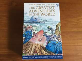 Age 8+ The Greatest Adventures in the World Collection - 10 Books