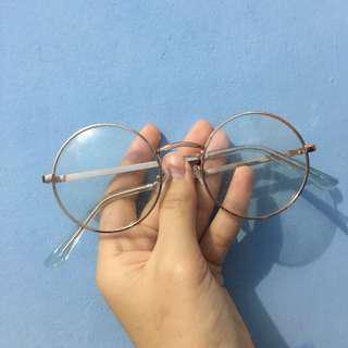 Kacamata forever 21 round glasses