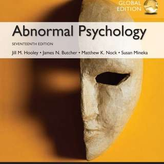 🚚 PL3236 Abnormal Psychology eTextbook 17th Edition
