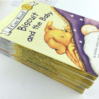 🚚 Biscuit I Can Read My First 18 books set with 2 CDs - Children Story books