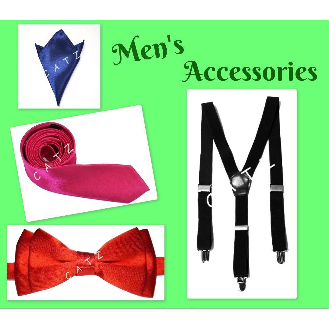 cdbf5ac3b27 CATZ   Bow Tie Bowtie Tie Necktie Skinny Tie Slim Tie Suspenders ...