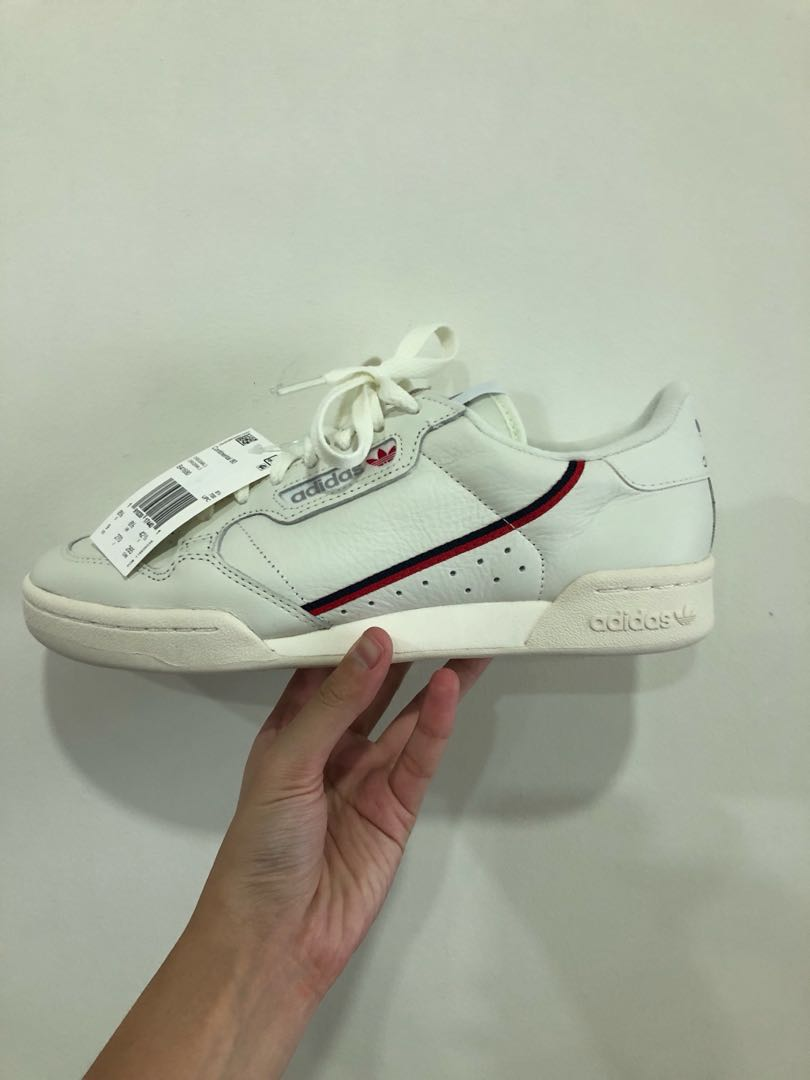 fdb70fb73 adidas Continental 80 s Off-White Scarlet Red US 9