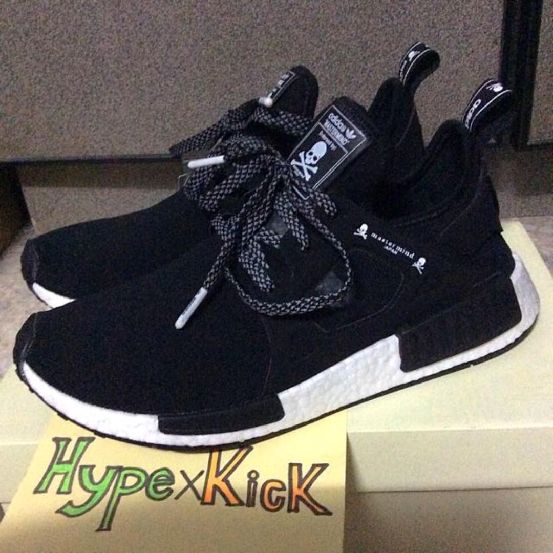 Adidas Men's NMD XR1 x Mastermind, Men's Fashion, Footwear
