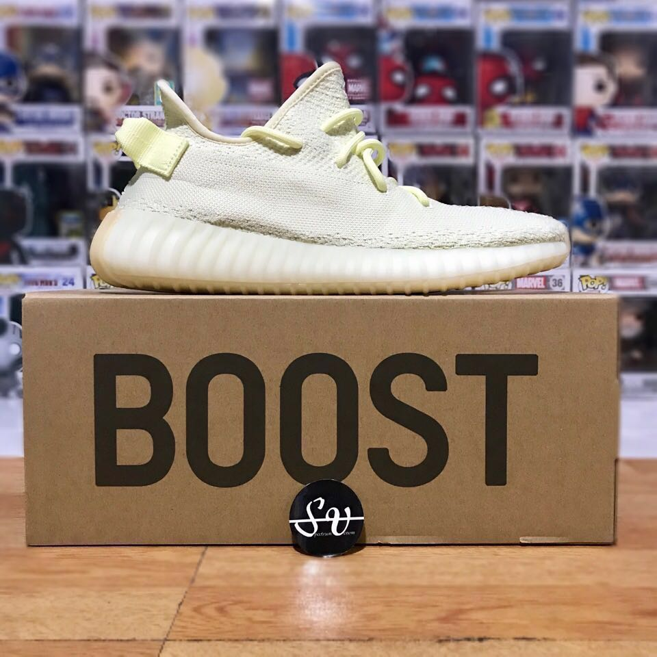 e42d58470d861 Adidas Originals Yeezy Boost 350 V2 Butter By Kanye West Limited ...