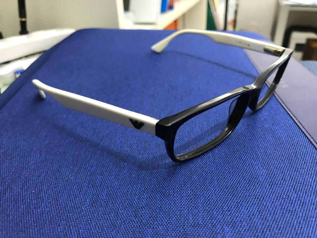 二手Armani男裝眼鏡框 (用了十年,只為環保)