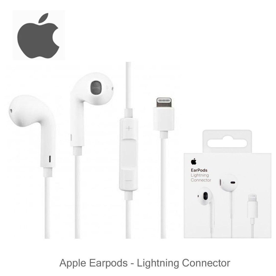 38e8c8b9810 AUTHENTIC Apple Earpods with Lightning Connector For ios earphone ...